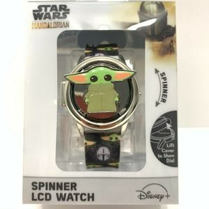 Star Wars Mandalorian The Child Watch Spinner LCD
